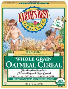 Whole Grain Oatmeal Cereal