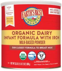 Dairy Infant Formula 23.2oz.