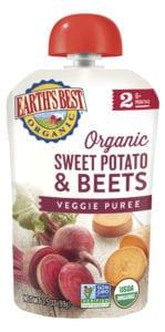 Sweet Potato & Beets Veggie Puree
