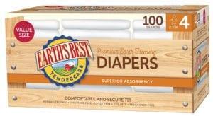 Diaper Value Size 4-100 ct