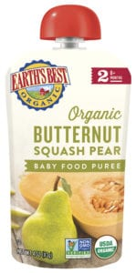 Butternut Squash Pear Baby Food Puree