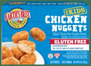 Earth's Best Gluten Fee Chicken Nuggets